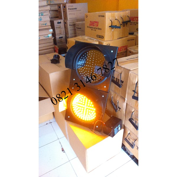 Solar Warning Light 2 Aspek 30cm 12/24v