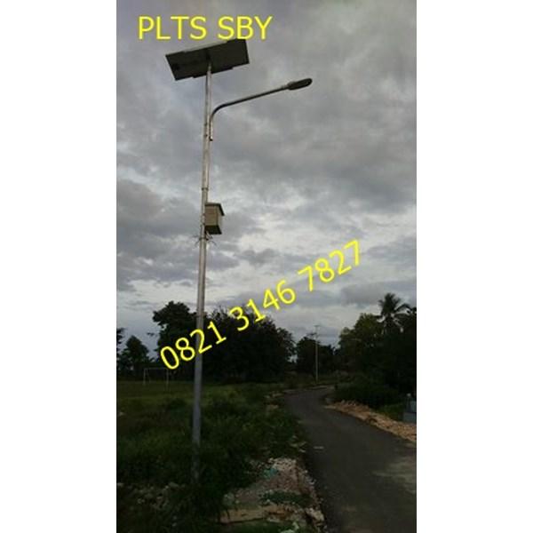 Lampu Tenaga Surya/PJU Tenaga Surya 30watt Single Arm