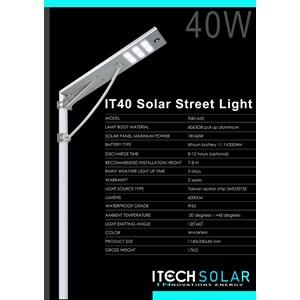 Penerangan Jalan Umum/ Lampu Jalan All in One 40watt