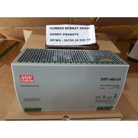 Jual Power Supply Mean Well DRT-480-24