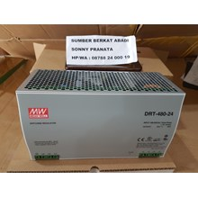 Power Supply Mean Well DRT-480-24