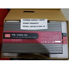 1000W Intelligent Single Output Battery Charger Mean Well PB-1000-24