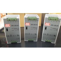 Jual DIN Rail Power Supplies MEAN WELL DR-120-24 (120W 24V 5A)