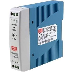 DIN Rail Power Supplies   MEAN WELL MDR-20-24 (24W 24V 1A)