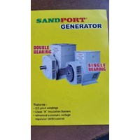 Jual Sandport Generator 140 KVA Single Bearing 2