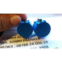 Potensiometer Mexico Bourns 1KOhm P/N 3590S-2-102L Genuine 1