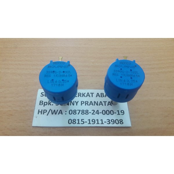 Potentiometer Mexico Bourns 1 KOhm P/N 3590S-2-102L Genuine