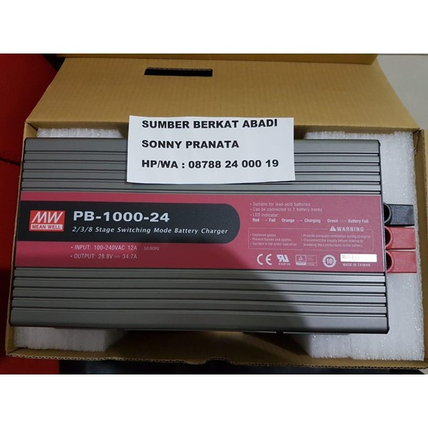 Battery Charger Mean Well PB-1000-24