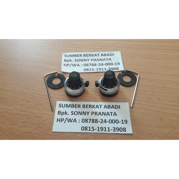 KNOP for PRECISION POTENTIOMETER BOURNS and VISHAY SPECTROL