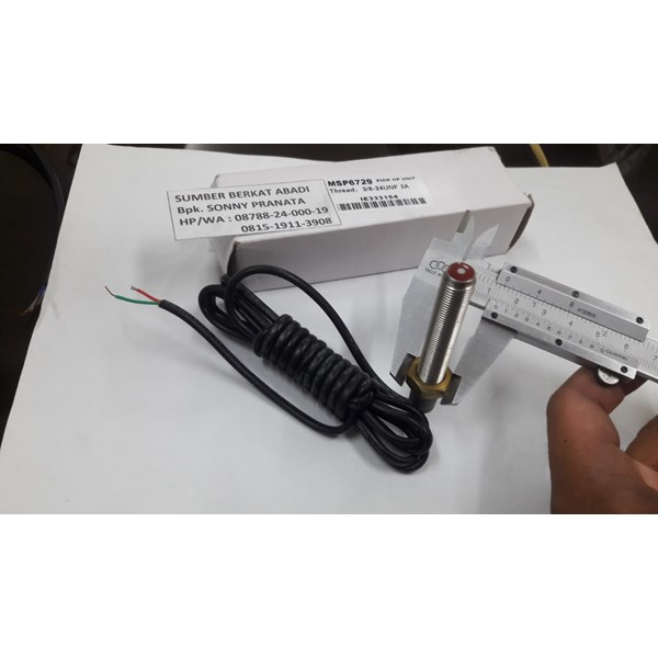 SPEED SENSOR MPU MSP6729 MSP 6729 RPM MAGNETIC PICK UP