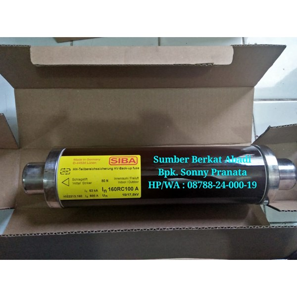 FUSE SIBA 160A 10/17.5kv item number 3022213.160