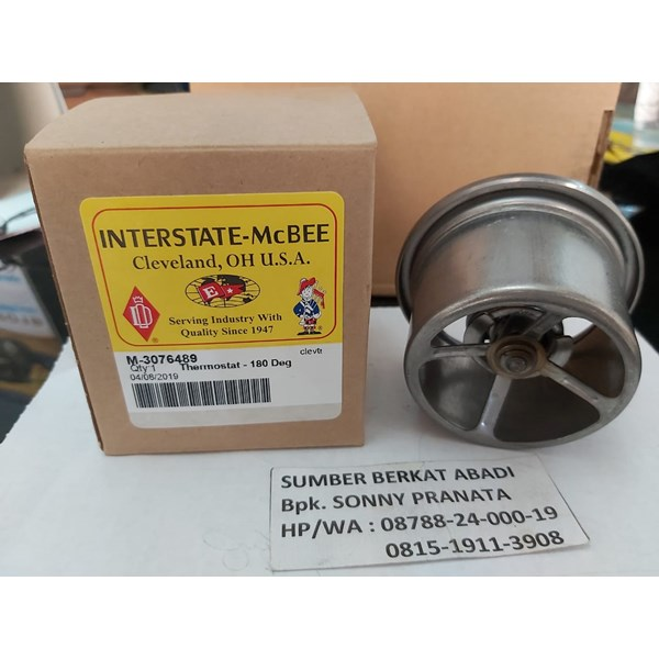 MCBEE INTERSTATE M-3076489 THERMOSTAT 3076489 - GENUINE