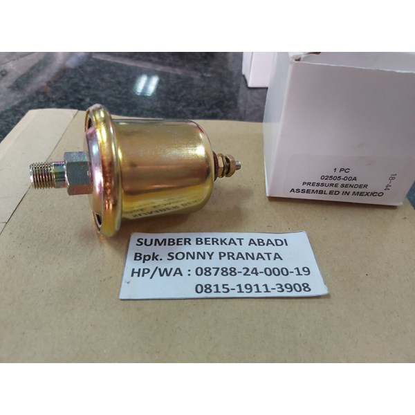 DATCON 02505-00 SENDER OIL PRESSURE 100 PSI - GENUINE