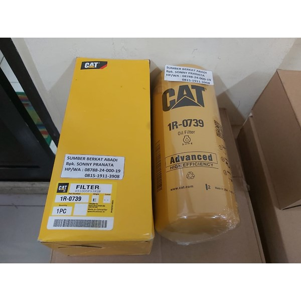 CATERPILLAR CAT 1R-0739 CAT 1R 0739 OIL FILTER 1R0739
