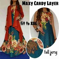 Jual Baju Muslim Maxy Cardy Layer