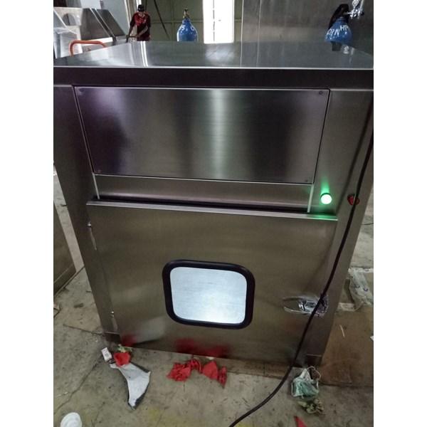 Air Shower dgn Pass box