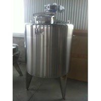 Stainless  Steel Tank Mixer 200 Liter