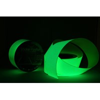 Jual Safety Tape Solasi Glow In The Dark Fosfor