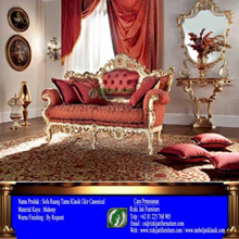 Classic Living Room Sofa Canonical Jepara Carving (Sofa For Living Room Classic Canonical Jepara Carving)