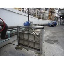 Electric and manual Ditch Watertight Gate