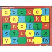 Jual Puzzle Sticker Huruf