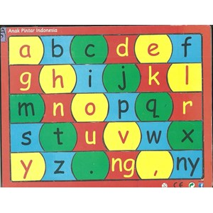 From Puzzle Sticker Letters 0