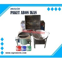 Abon Fish Making Machine