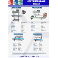 Mesin Continuous Sealer