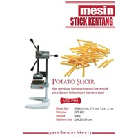 Alat pengiris kentang stick