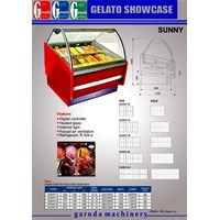 Gelato showcase Es cream 1