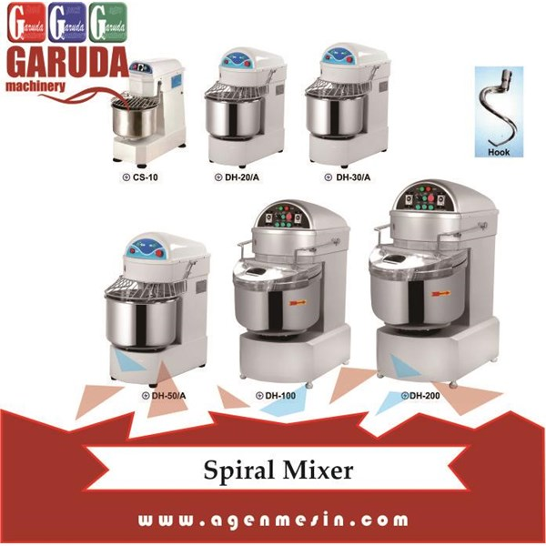 Mesin Pengaduk Adonan ( Spiral Mixer )