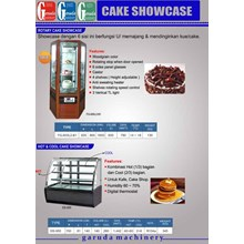 Mesin Showcase Cake