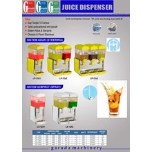 Alat alat Mesin Jus Dispenser