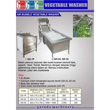 Alat alat Mesin Pencuci Buah dan Sayuran