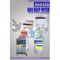Gas Engine Deep Fryer 1