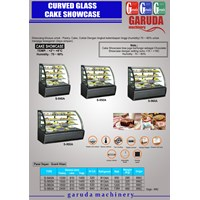 Jual Pendisplay Kue ( Curved Glass Cake Showcase)