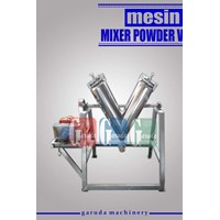 Mesin Mixer Powder V