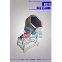 Jual Mesin Pengaduk Bumbu ( Mixer Hexagonal)
