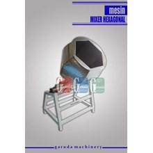 Mesin Pengaduk Bumbu ( Mixer Hexagonal)