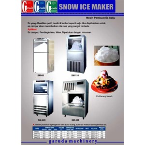 Alat alat Mesin Pembuat Es Salju ( Snow Ice Maker )