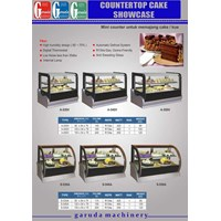 Mesin Showcase Cake Mini ( Countertop)