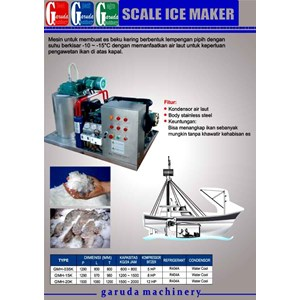 Alat alat Mesin Pembuat Es ( Scale Ice Maker )