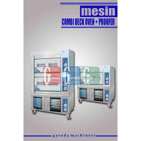 Mesin Pemanggang dan Pengembang Roti ( Combi Deck Oven + Proofer )