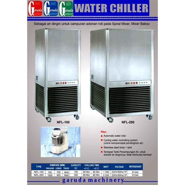Alat alat Mesin Pendingin Air ( Water Chiller )