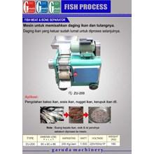 Mesin  Pengolah Ikan (Pemisah Daging dan Tulang )
