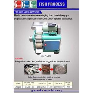 Dari Mesin  Pengolah Ikan (Pemisah Daging dan Tulang ) 0