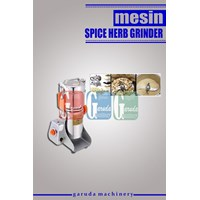 Mesin Penepung Herbal ( Spice Herb Grinder )  1