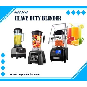 Dari Mesin Heavy Duty Blender  0
