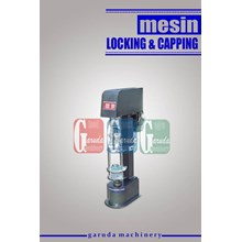 Mesin Penutup Botol ( Locking & Capping )