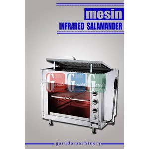 Mesin Pemanggang Makanan ( Infrared Gas Salamander )